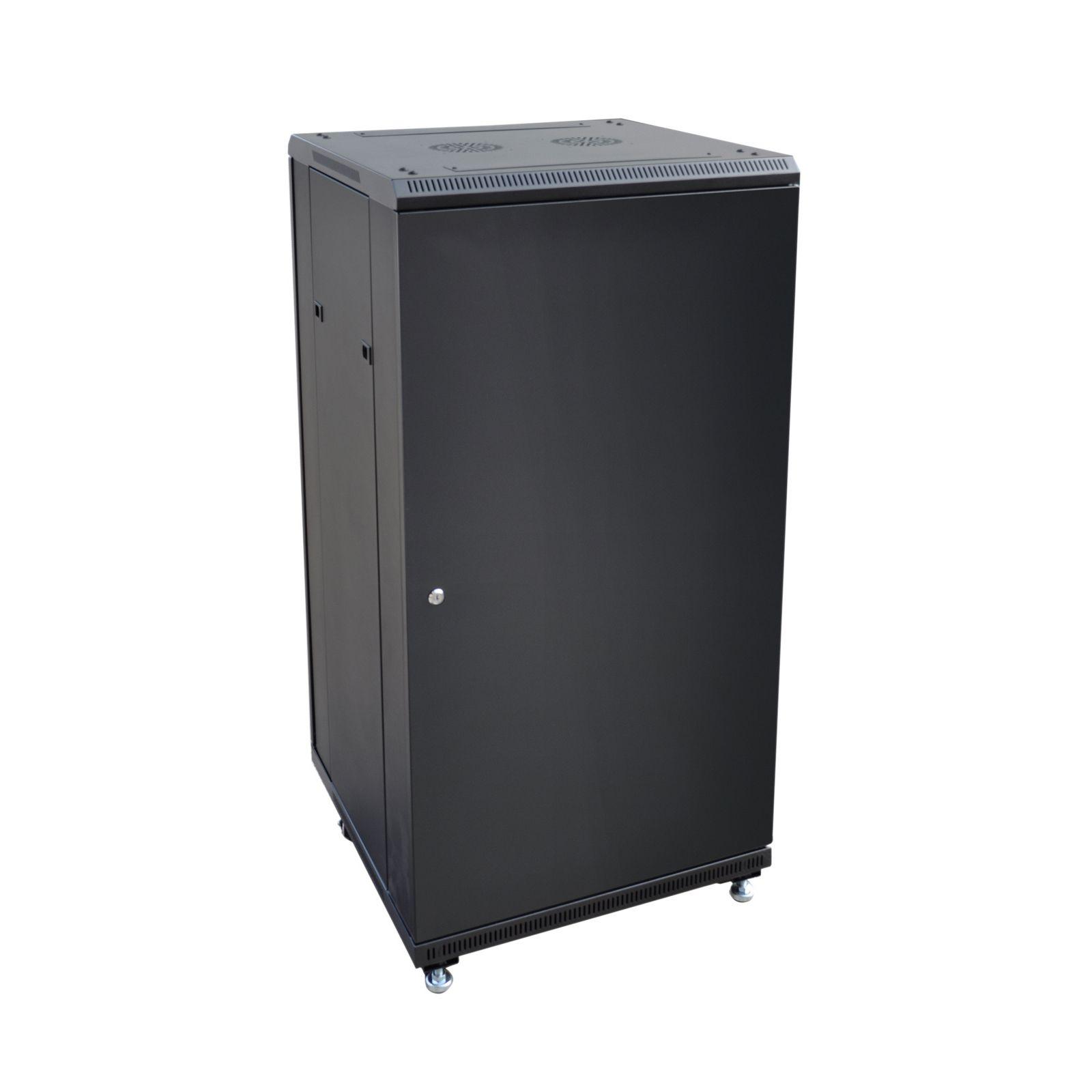 Eagle 24U Network Data Rack Cabinet With Glass Door